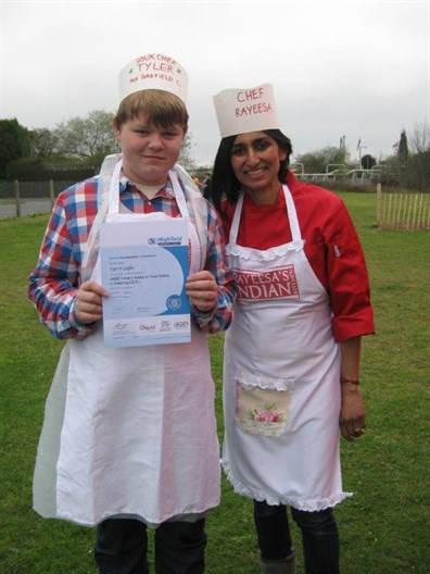 Picture Of Tyler Griffin And Rayeesa Ashgar Sandys At Old School Lane Event