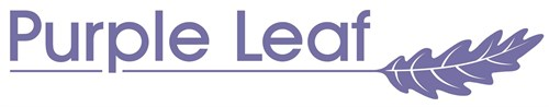 Purple Leaf Logo